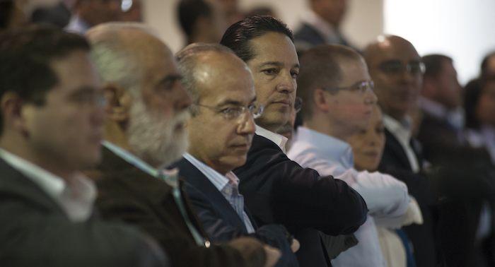 Felipe Calderón fue acusado de meter mano en las pasadas elecciones. Foto: Cuartocuro