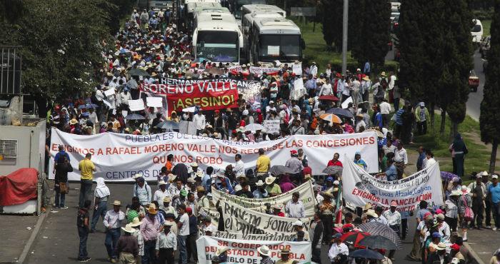 Manifestación contra la Ley Bala. Foto: Cuartoscuro