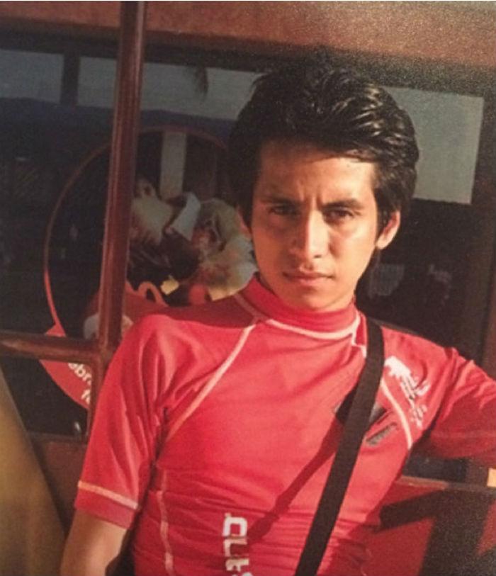 Óscar está preso acusado del homicidio de su pareja. Foto: SinEmbargo, especial