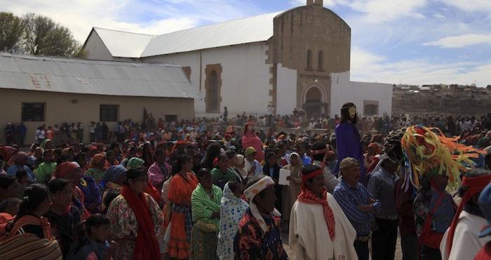 Consejo Supremo de la Alta y Baja Tarahumara pide destitución de Lorenzo Córdova. Foto: Cuartoscuro