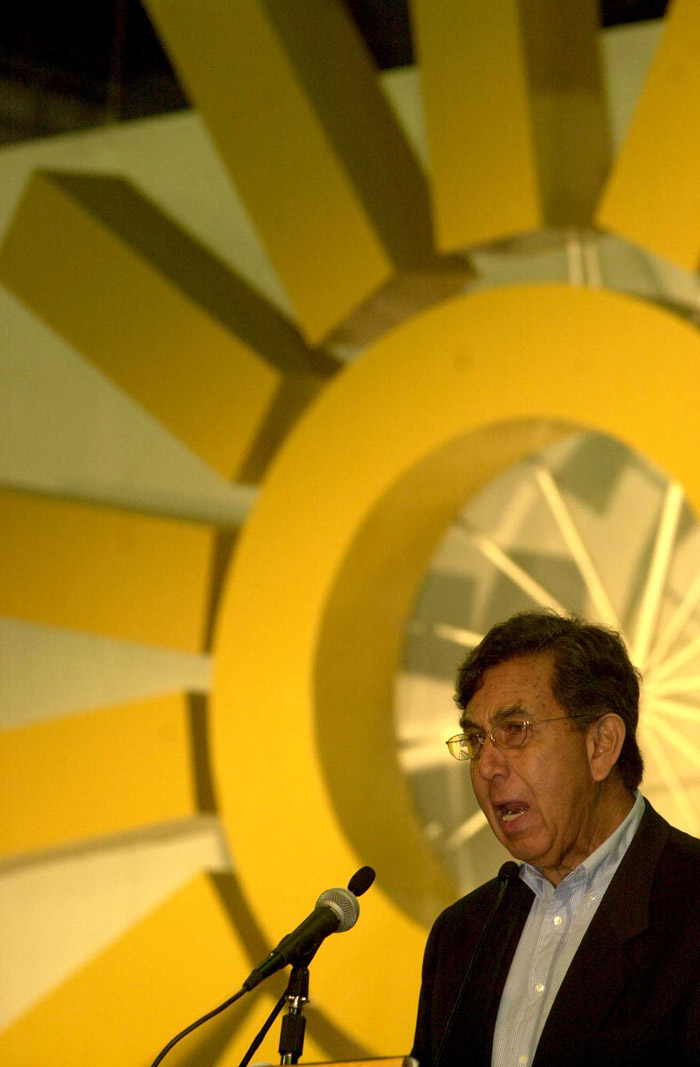 Cárdenas, líder moral, quedó fuera. Foto: Cuartoscuro