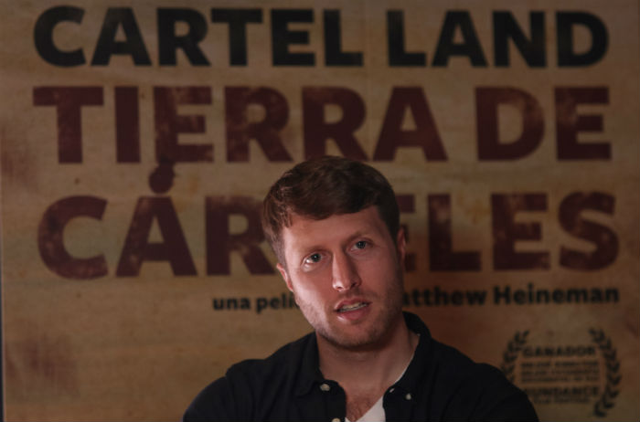 Matthew Heineman, el cineasta estadounidense, en entrevista con SinEmbargo. Foto: Especial