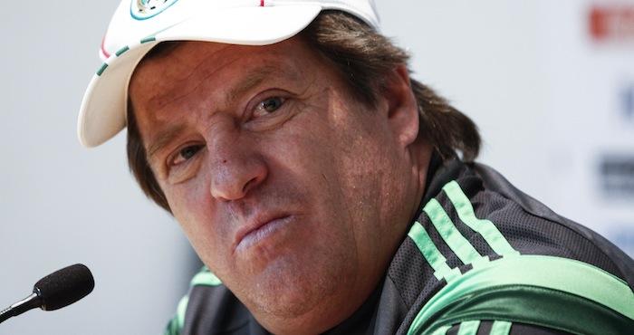 """Miguel """"El Piojo"""" Herrera, director técnico de la Selección Mexicana de Futbol. Foto: Cuartoscuro"""