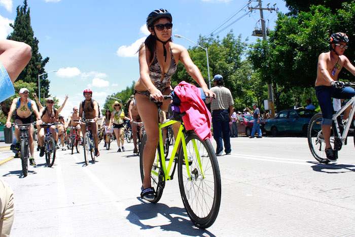 World Naked Bike RIde Puebla 2018