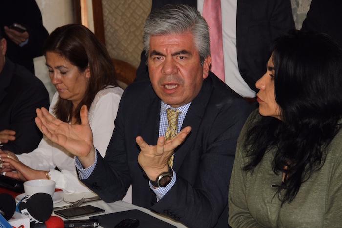 """El líder del PRD-DF habló de """"traiciones"""" dentro del partido y de una supuesta """"operación silenciosa"""" para favorecer a otros partidos. Foto: Luis Barrón, SinEmbargo."""