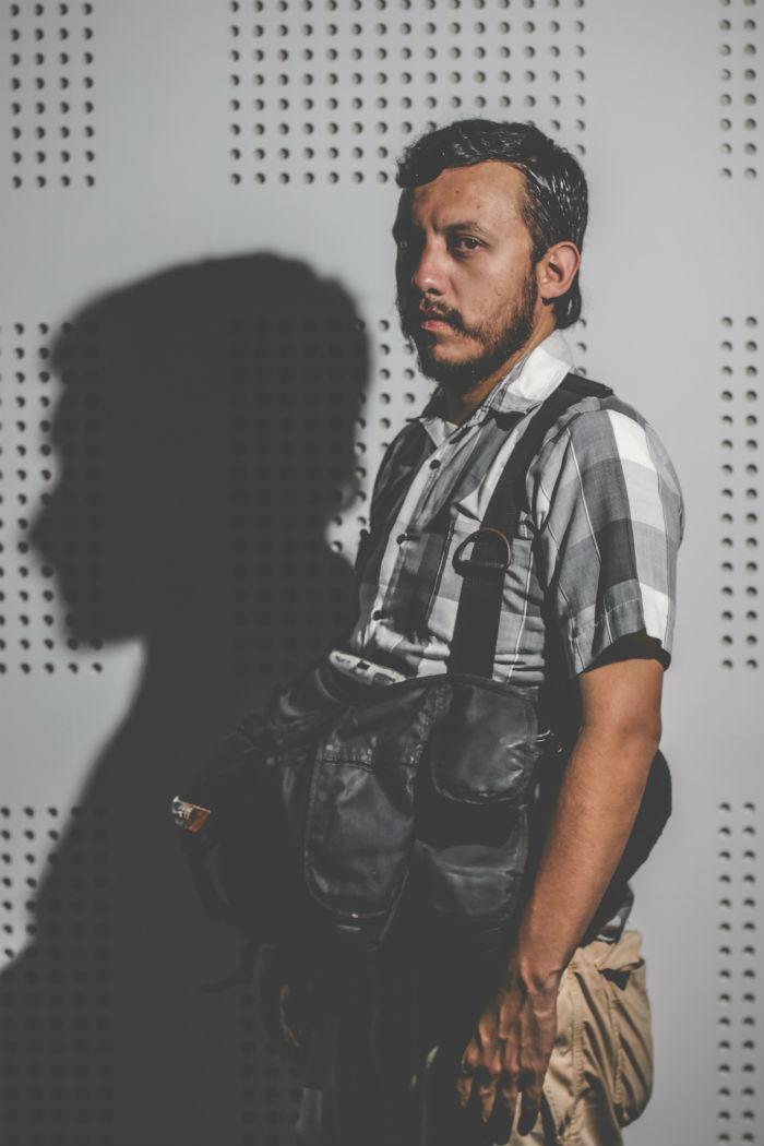 Rubén Espinosa huyó de la entidad gobernada por el priista Javier Duarte luego de darse cuenta que lo vigilaban. Foto: Luis Barrón, SinEmbargo