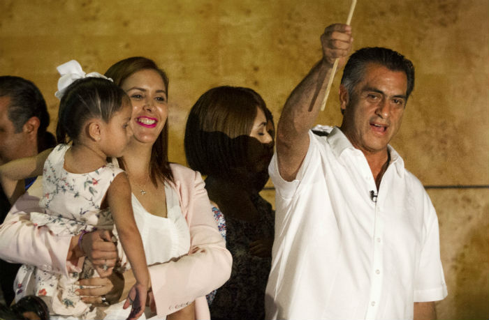 """""""El Bronco"""", como independiente, se impuso en Nuevo León a los candidatos del PRI y PAN. Foto: Cuartoscuro"""