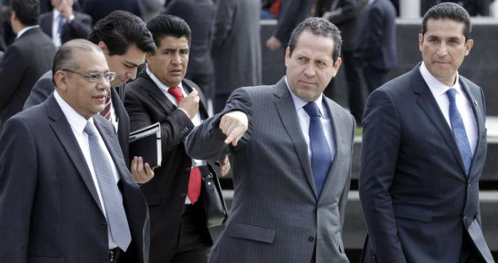 El Congreso del Edomex autorizó sancionar a Eruviel Ávila por violar la ley electoral. Foto: Cuartoscuro.