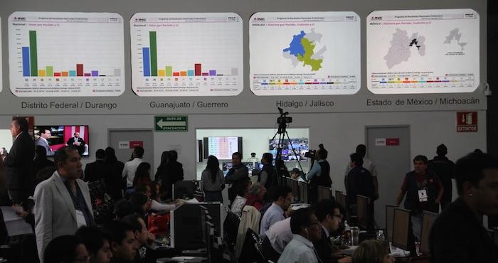 El Consejero presidente del INE informa de balance positivo en elecciones. Foto: Luis Barrón, SinEmbargo