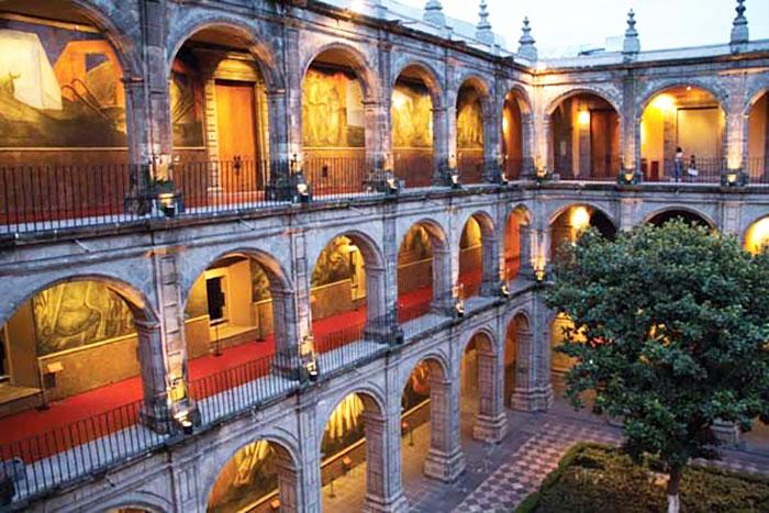 El Antiguo Colegio de San Ildefonso, recinto de la ENP.