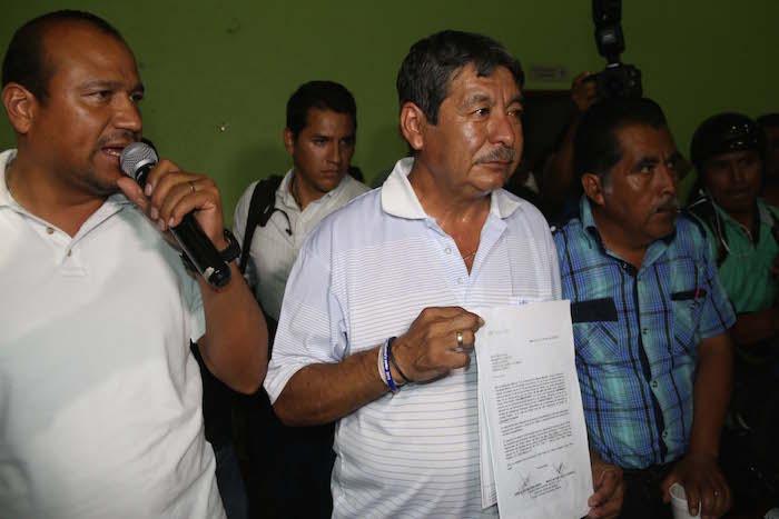 Rubén Núñez Ginez, líder de la Sección 22 de la CNTE. Foto: Cuartoscuro.