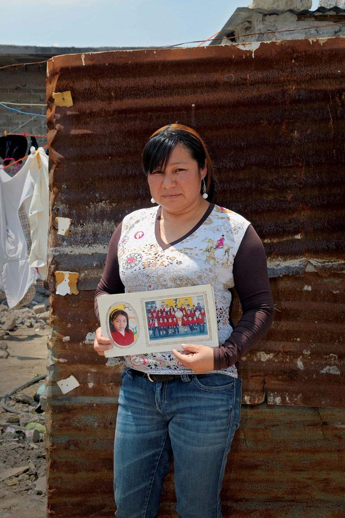 Una historia de familias en la pobreza. Foto: Eduardo Loza