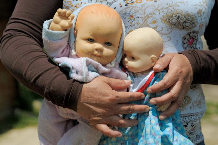 El recuerdo y las muñecas. Foto: Eduardo Loza