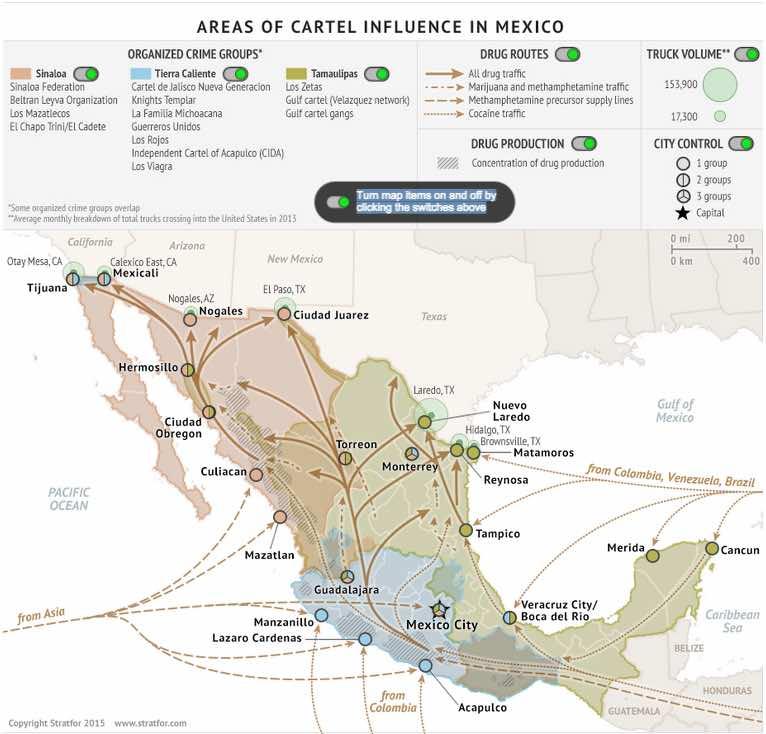 Se fuga el Chapo Guzman.. de nuevo - Página 4 Mapa-C%C3%A1rteles-