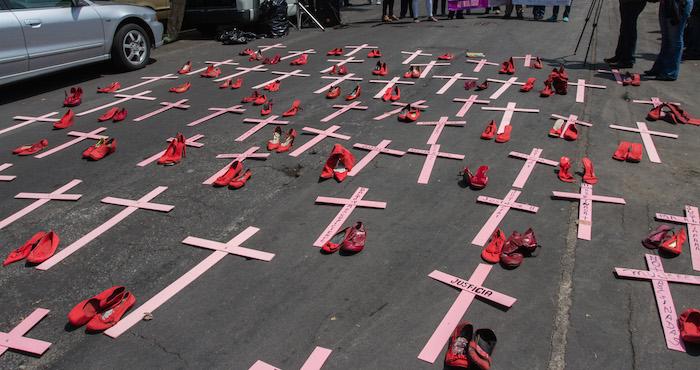 Grupos civiles, que por años han luchado por encontrar justicia para las víctimas y sus familias, exigen que la alerta de género se extienda a todos los municipios del Edomex. Foto: Cuartoscuro