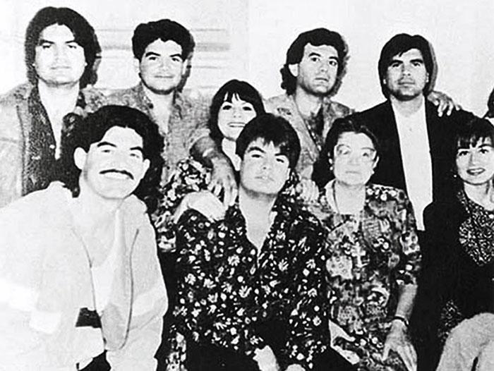 Retrato de la familia Arellano Félix. Foto: Especial