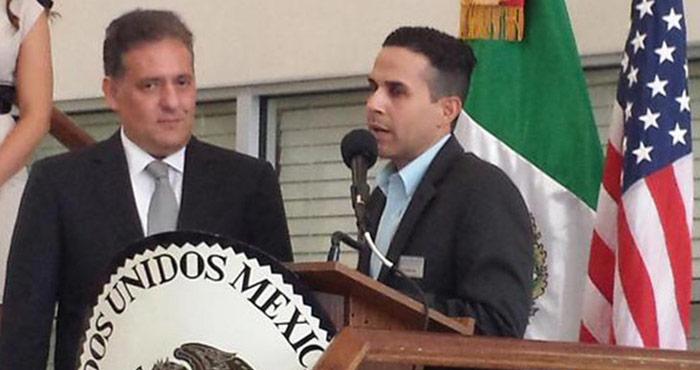 El gobierno federal rescató del olvido a Sabines, y lo nombró Cónsul General de México en Orlando, Florida, Estados Unidos. Foto: Twitter, Consulado de México en Orlando