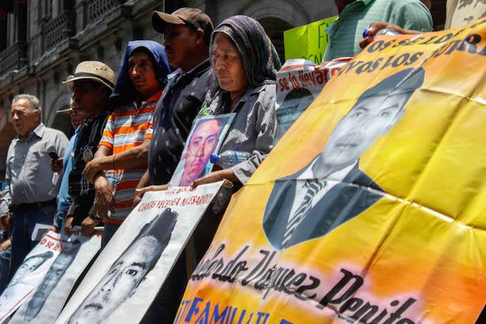 La ONU solicitó a México que la Ley de Desaparición Forzada incluya a la opinión de los familiares de las víctimas. Foto:Cuartoscuro