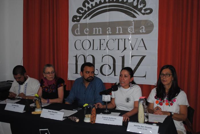 El llamado se hizo en el marco de la controversial decisión de un Juzgado de Distrito de rechazar la suspensión de maíz transgénico. Foto: Juan Luis García, SinEmbargo