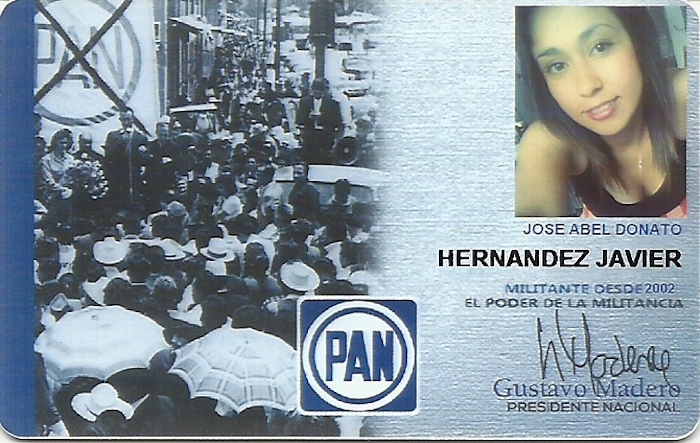 """""""Ella"""", José Abel, también votará en Aljojuca, Puebla. Foto: Especial, SinEmbargo"""