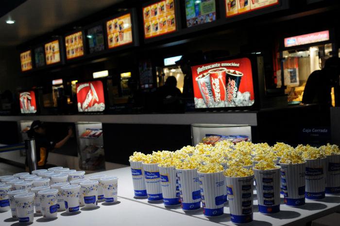 El costo de ir al cine equivale a más de más de ocho horas de trabajo. Foto: Cuartoscuro