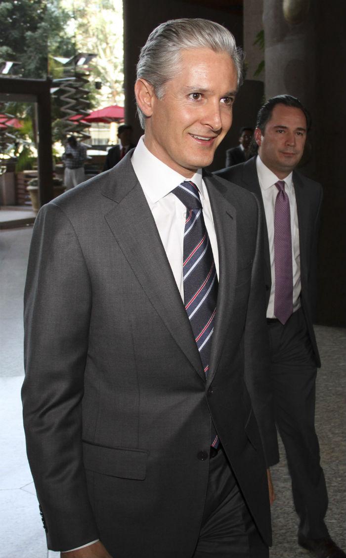Alfredo del Mazo Maza, el heredero del tío del Presidente Peña Nieto. Foto: Cuartoscuro