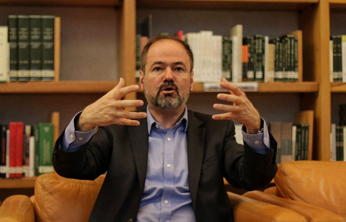 Juan Villoro dijo que en México, el sueño de poder absoluto es la impunidad. Fotos: Francisco Cañedo, SinEmbargo.