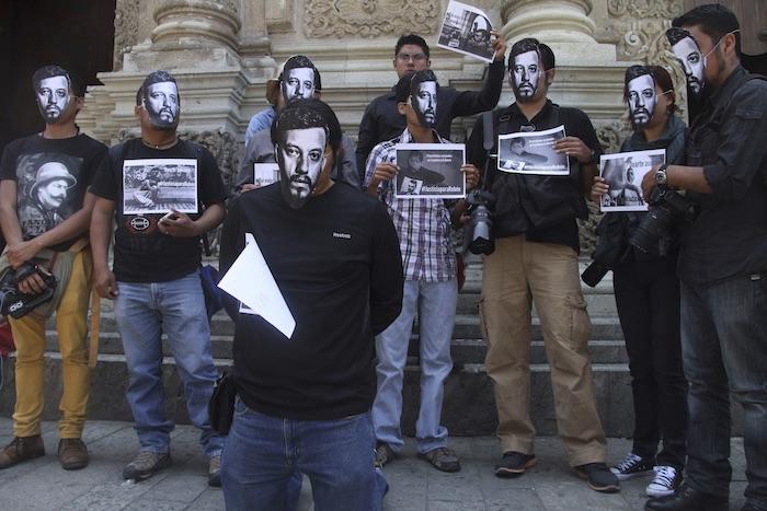 En diferentes estados del país se realizaron protestas por la muerte del fotoperiodista. Foto: Cuartoscuro