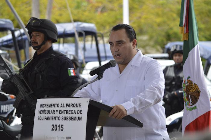 Borge se encuentra en su último año de gobierno. Foto: Cuartoscuro.