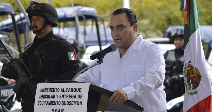 El priista Roberto Borge Angulo. Foto: Cuartoscuro