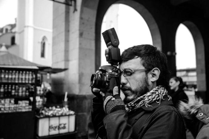 El fotógrafo se refugió en el DF luego de ser intimidado en Veracruz. Foto. Facebook, Cuartoscuro