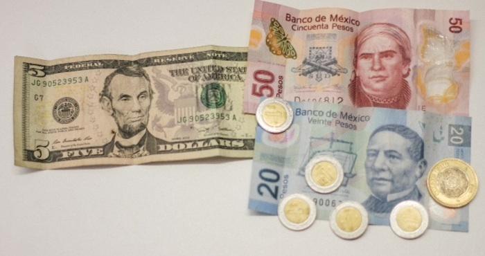 El peso se recupera. Foto: Luis Barrón, SinEmbargo