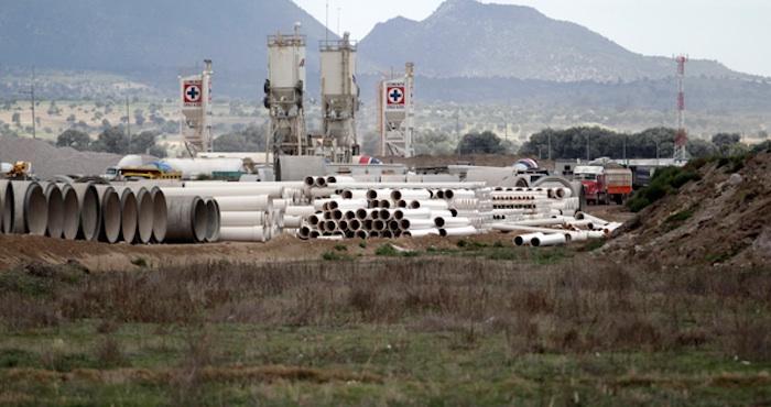 Parque industrial en Puebla