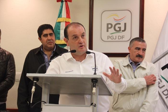 El Procurador capitalino Rodolfo Ríos dijo que se agotarán todas las líneas de investigación del múltiple homicidio. Foto: Luis Barrón, SinEmbargo