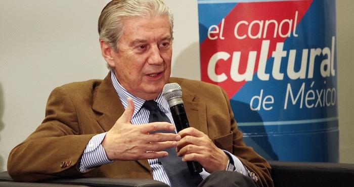Raúl Cremoux López, Director General de Canal 22. Foto: Notimex