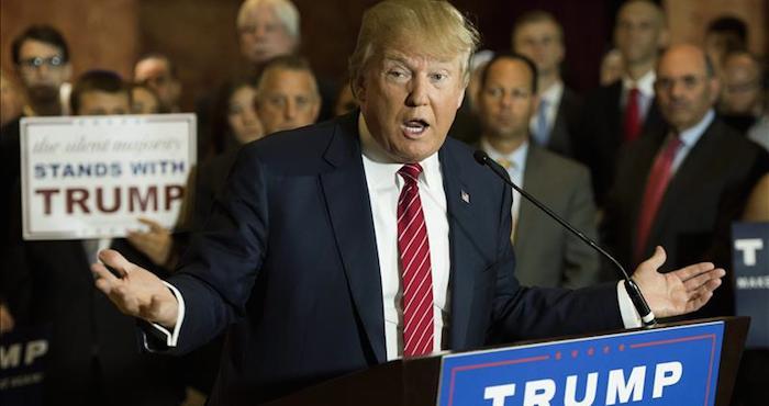 """Trump amenaza con """"romper"""" el TLCAN si es elegido presidente de EU. Foto: EFE"""
