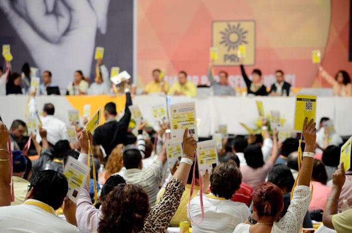 Los consejeros durante el evento. Foto: Luis Barrón, SinEmbargo