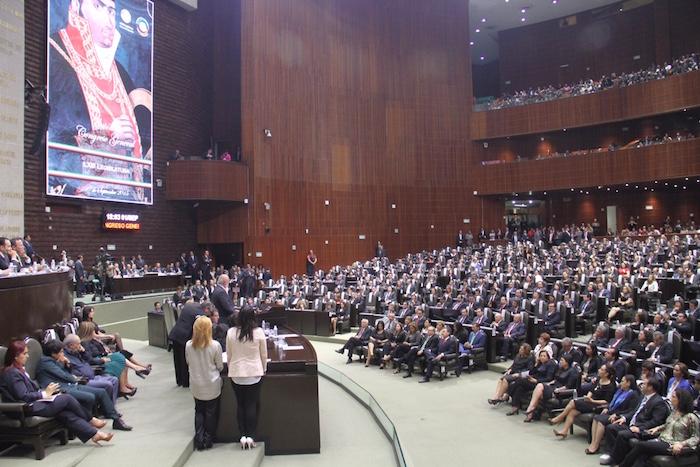 Hoy iniciaron los trabajos del Primer Periodo de Sesiones Ordinarias del Primer Año de Ejercicio de la LXIII Legislatura. Foto: Luis Barrón, SinEmbargo