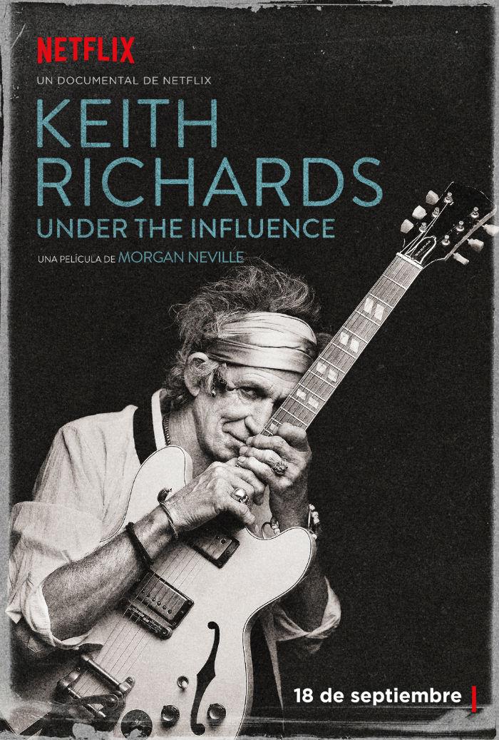 Keith Richards, la película. Foto: Netflix