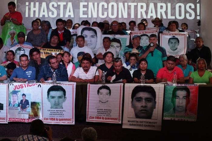 El caso Iguala demuestra con crudeza la falta de reconocimiento de desaparición forzada. Foto: Francisco Cañedo, SinEmbargo.