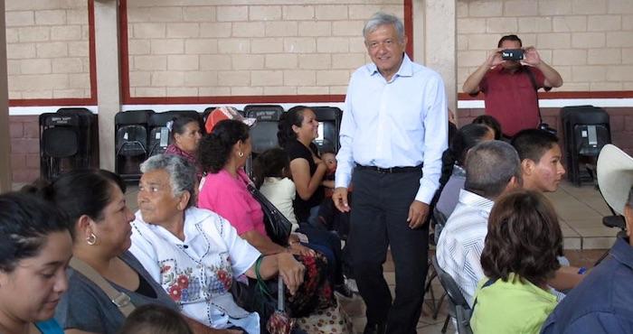 Andrés Manuel López Obrador de gira por Zacatecas. Foto: Facebook