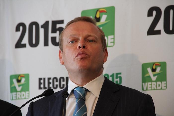 Arturo Escobar, es dirigente del PVEM, y actual Subsecretario de de Prevención y Participación Ciudadana. Foto: Cuartoscuro.