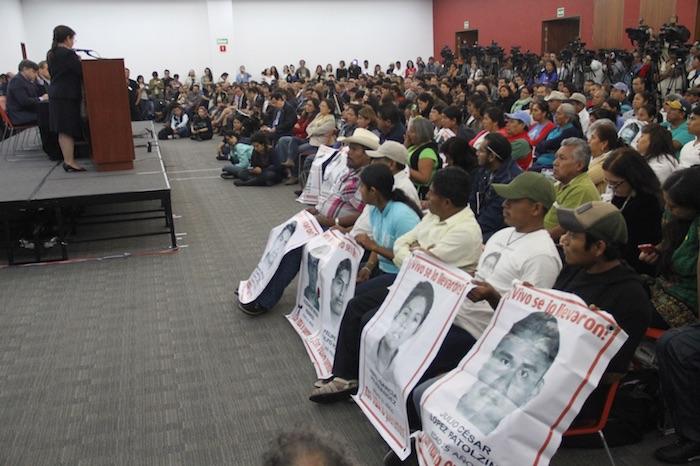 Presentación del informe del GIEI. Foto: Luis Barrón, SinEmbargo
