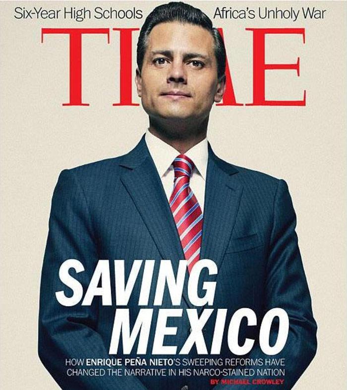 El salvador de la Patria, según Time. Foto: Archivo