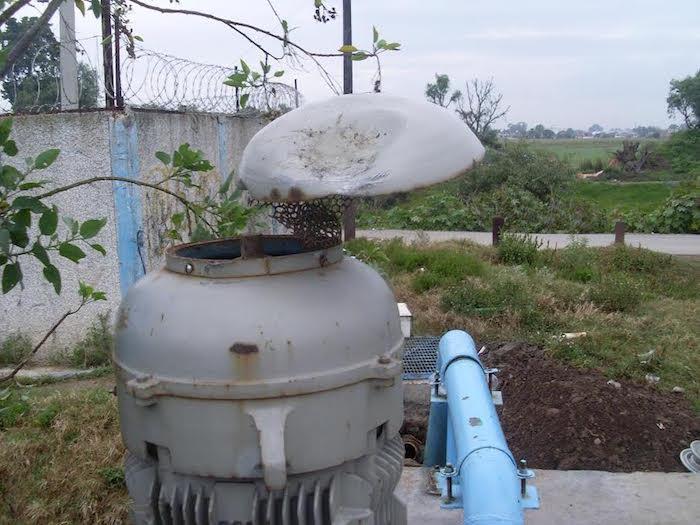 A las 11 de la mañana de este lunes una decena de personas atacó las instalaciones del sistema comunitario de agua. Foto: Especial, SinEmbargo