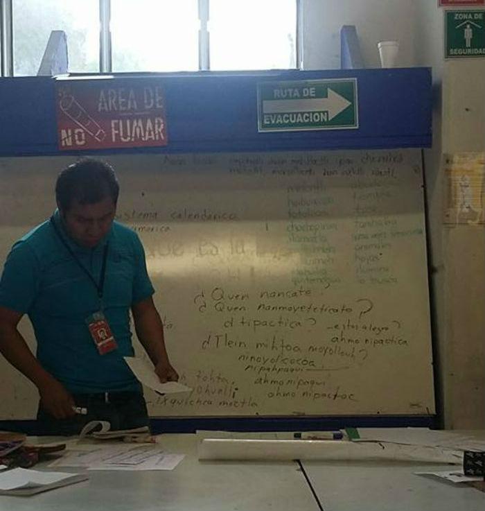 No te pierdas el taller de náhuatl. Foto. Facebook