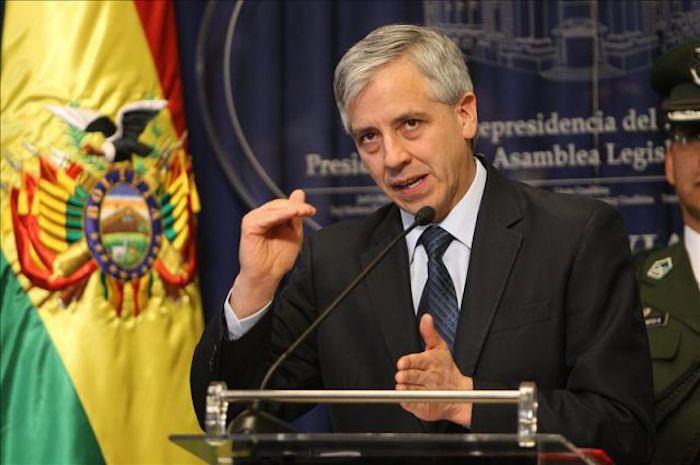 El vicepresidente de Bolivia, Álvaro García Linera, visita la FIL Zócalo para hablar de Latinoamérica. Foto: EFE