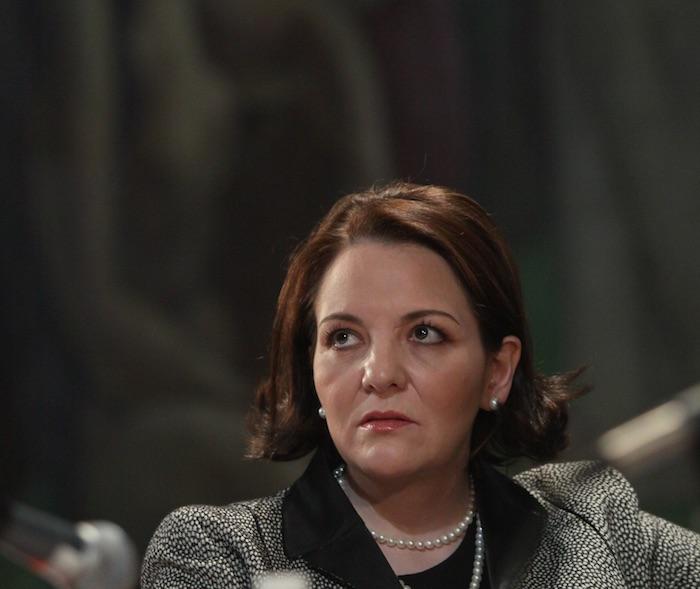 María del Carmen Alanís, magistrada del Tribunal Electoral del Poder Judicial de la Federación. Foto: Cuartoscuro