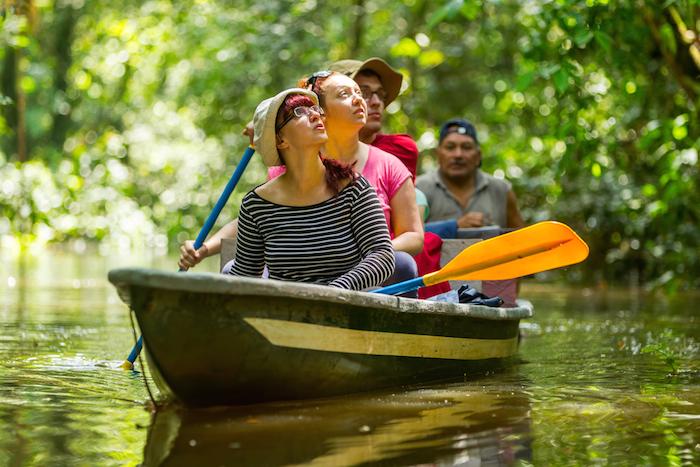 El avistamiento de especies en su medio natural es una opción turística saludable con las especies. Foto: Shutterstock