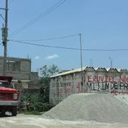 Antorcha Campesina, organizacio?n priista, ha mantenido una intensa confrontacio?n con el tambie?n priista Gobernador Eruviel A?vila. Foto: Humberto Padgett, Sinembargo